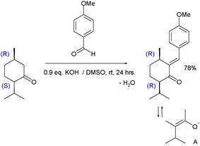 A Claisen-Schmidt reaction