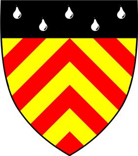 Clare Hall heraldic shield