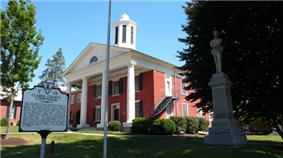 The Clarke County Courthouse in Berryville