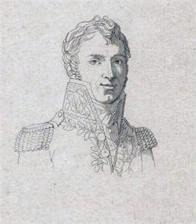 Sketch of Claude Carra Saint-Cyr