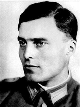 Claus von Stauffenberg.
