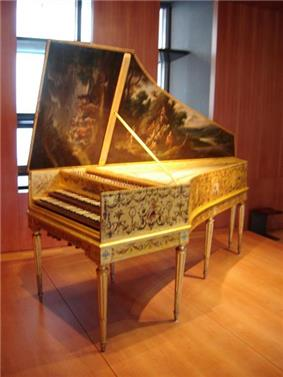 Harpsichord made by A. Rückers (1646).