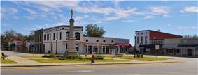 Courthouse Square in Clayton