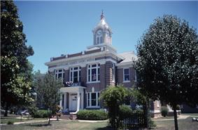 Cleveland County Courthouse in Rison - listed on National Register of Historic Places