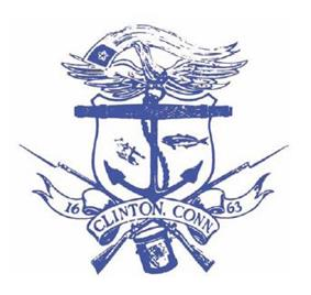 Official seal of Clinton, Connecticut