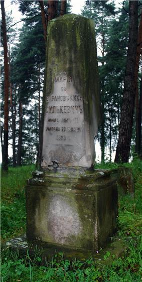 Cmentarz w Bohonikach grob z pocz 20 w.jpg