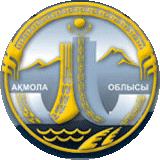 Coat of arms of Akmola Region