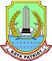 Official seal of Bekasi
