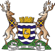 Coat of arms of Hertfordshire County Council