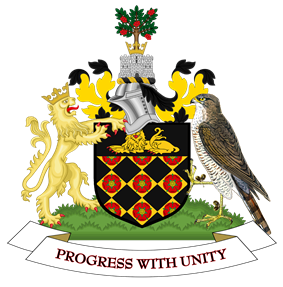 Official logo of Borough of Wigan