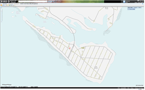 Location of Cobb Island, Charles County, Maryland