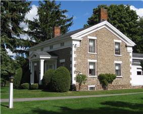 William Covert Cobblestone Farmhouse