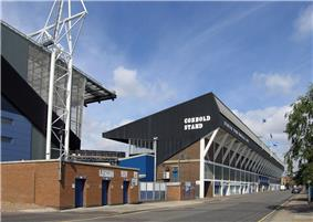 The Cobbold Stand at Ipswich Town's Portman Road stadium