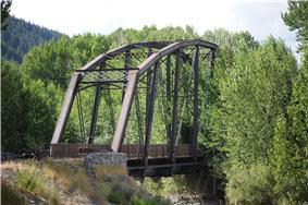 Cold Springs Pegram Truss Railroad Bridge