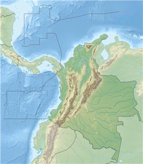 Pico CristóbalColón is located in Colombia