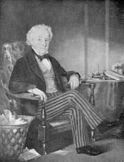 Portrait of Thomas Talbot