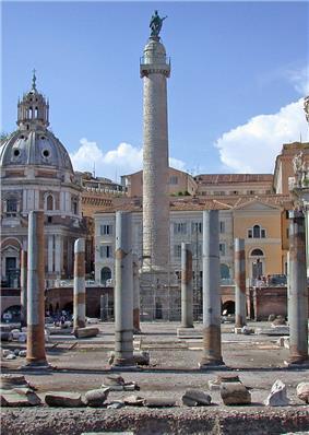 Trajan's Column in Trajan's Forum