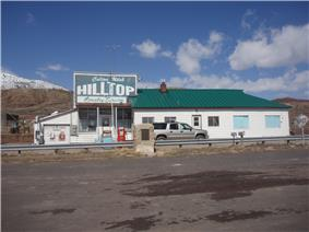 Hilltop Country Store, one of the last remnants of Colton
