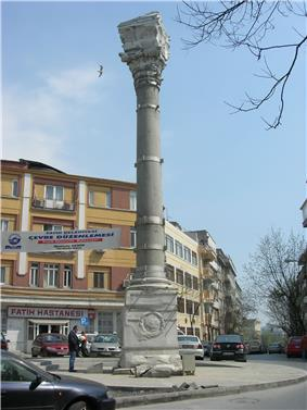 The Column of Marcian in 2007