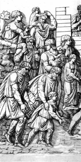 Cross section of Dacian society