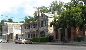 Historic downtown Comfort