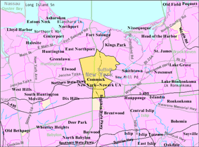 U.S. Census map