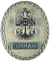 Command Senior Chief badge