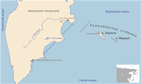 Kamchatka and the Commander Islands