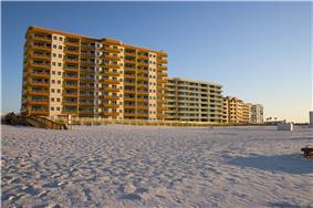 Condominiums along the beach in 2006