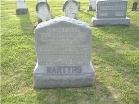 Confederate Martyrs Monument in Jeffersontown