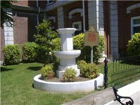 Confederate Memorial Fountain in Hopkinsville