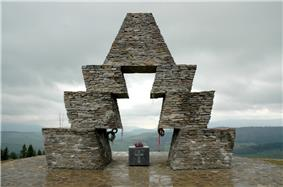 Conquest memorial at the Verecke Pass