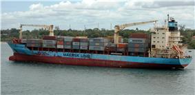 Maersk Alabama leaves Mombasa, Kenya, April 21, 2009.