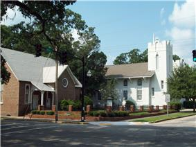 Conway Methodist Church, 1898 and 1910 Sanctuaries