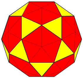 Pentakis icosidodecahedron