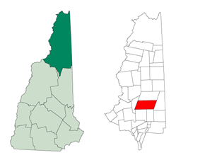 Location in New Hampshire