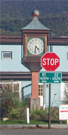 Copake Memorial Clock