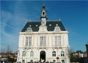 The town Hall of Corbeil-Essonnes