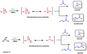corey-chaykovsky selectivity