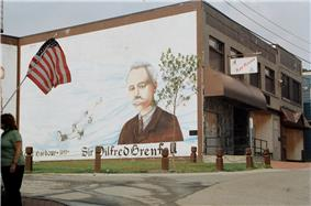 Mural of Sir Wilfred Grenfell