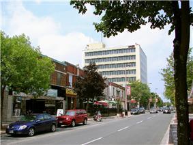 Pitt Street, downtown Cornwall