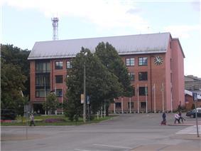 Jõgeva County hall built in 1968