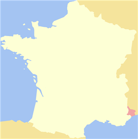 Location of Nice, County