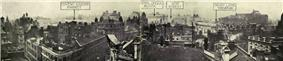 roofscape of inner London in 1913