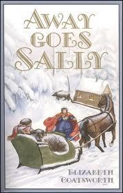 Example The book cover illustration shows a snow-covered world with a horse and sleigh about to pick up a girl in a long dress