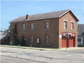 Covington's old village hall, now a museum
