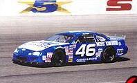 Matt Crafton's blue No. 46 Ford