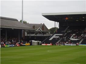 The cottage in the corner of Fulham's stadium, Craven Cottage