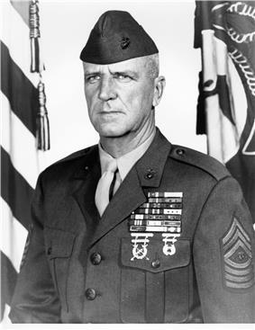 black & white photograph of Leland D. Crawford