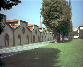 The Crespi factory.